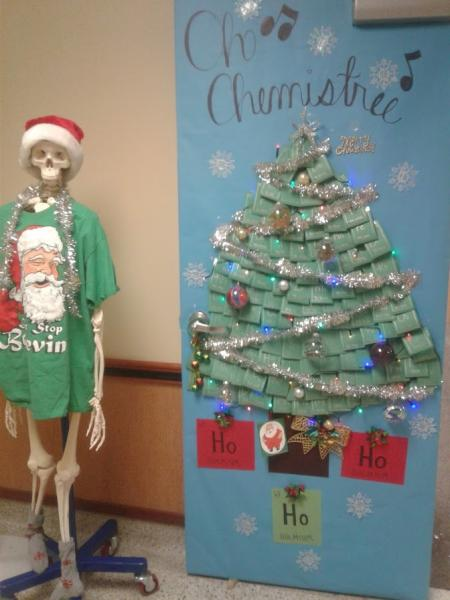 oh chemistree - Candyland Christmas Door Decorations