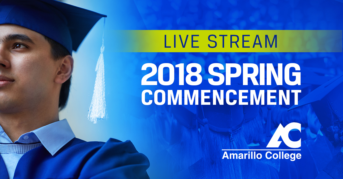2018 Spring Commencement Live Stream