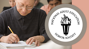 National Adult Education Honors Society   Homepage Image