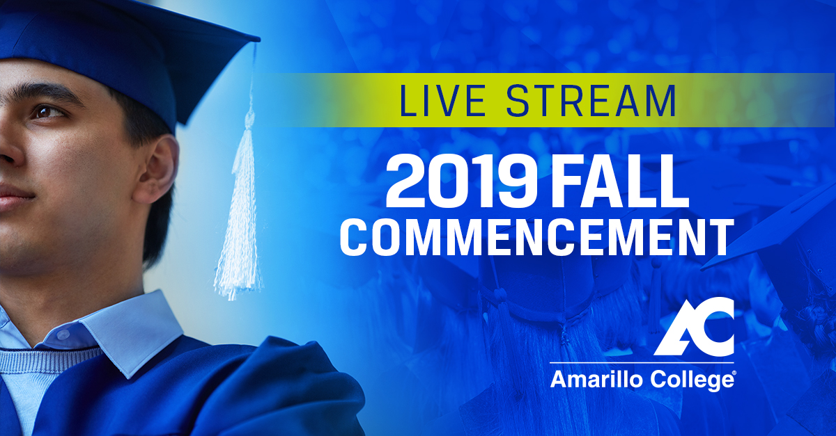 Fall  19 Commencement Live Stream