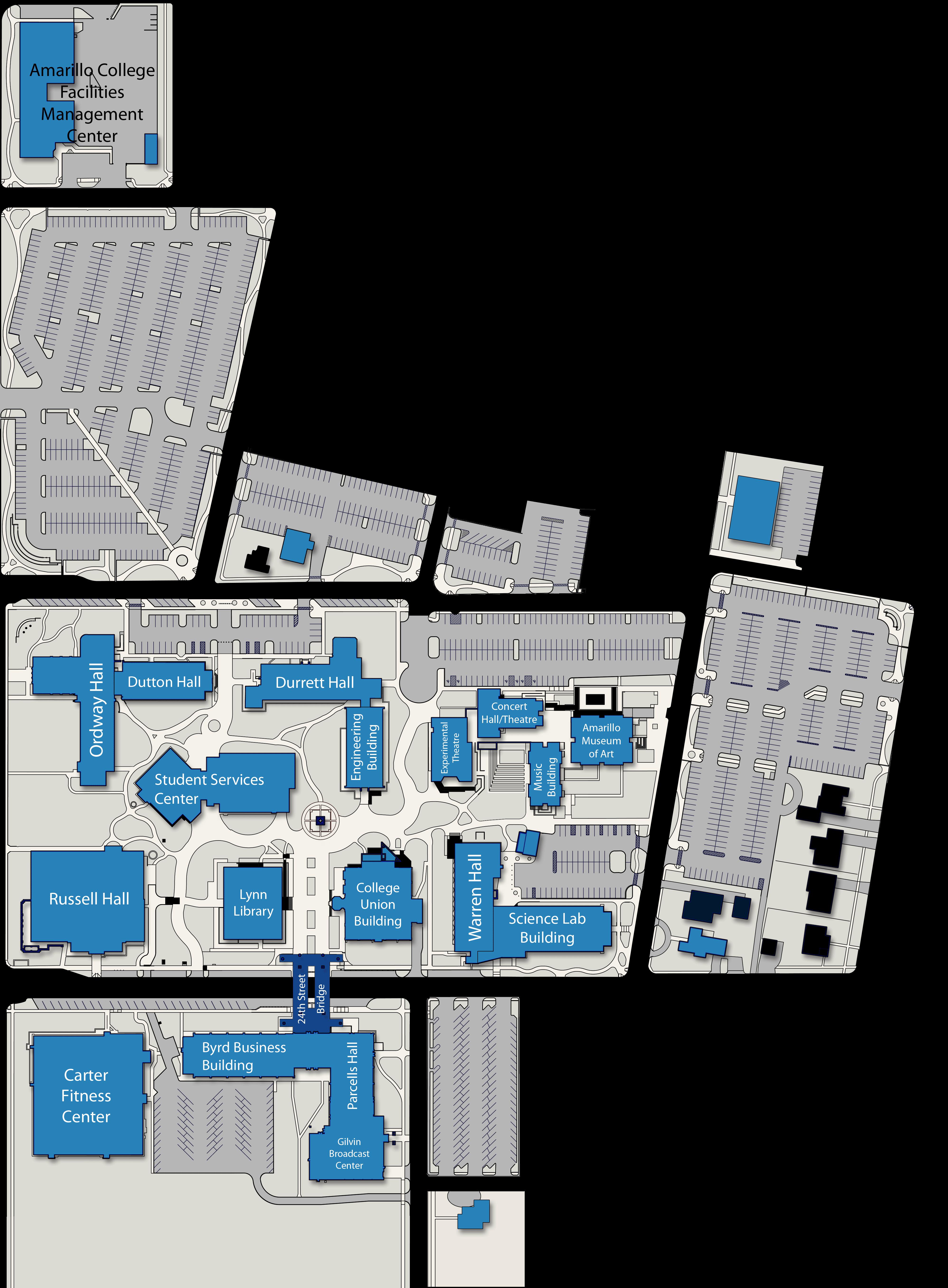 Amarillo College Campus Maps